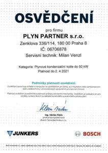 plyn-partner-opravneni-osvedceni-certifikace-milan-venzl-junkers-bosh