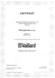 plyn-partner-opravneni-osvedceni-certifikace-vaillant